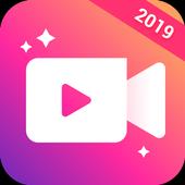 Video Maker: Editor de Vídeo com Fotos e Música ícone