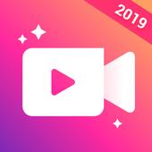 Icona Video Maker, Video Editor con Photos & Music