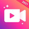 Videomaker van foto's met muziek, video-editor-icoon