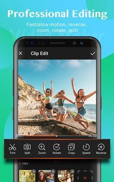 Video Maker: Editor de Vídeo com Fotos e Música imagem de tela 2