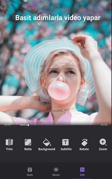 Fotoğraf ve Müziklerle Hazırlayıcı, Video Editörü Ekran Görüntüsü 2