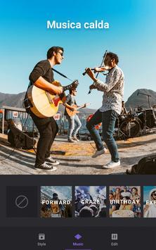 4 Schermata Video Maker, Video Editor con Photos & Music