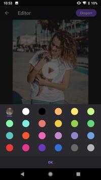 Pembuat Video Foto dengan Muzik, Editor Video syot layar 7