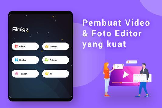 Pembuat Video Foto dengan Muzik, Editor Video syot layar 8