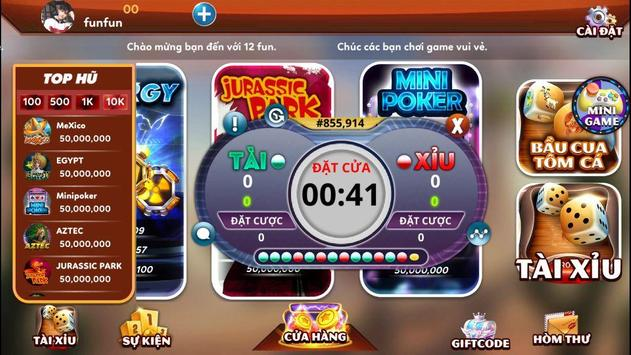 12fun.net game số 1 châu á screenshot 1