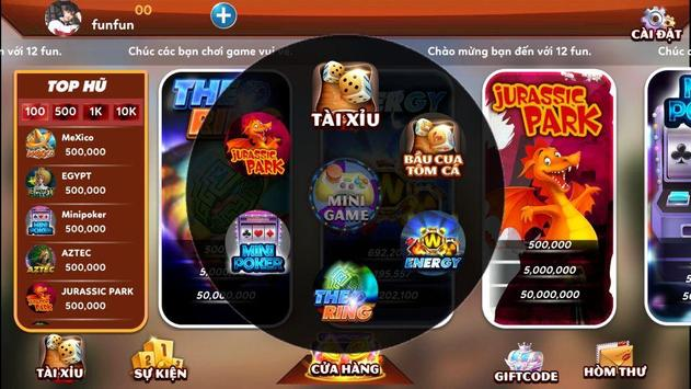 12fun.net game số 1 châu á screenshot 3