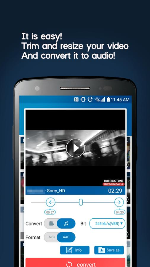 video converter to mp3 free download apk