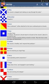 Nautical Flags screenshot 6