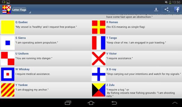 Nautical Flags screenshot 7