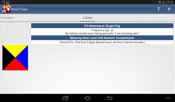 Nautical Flags screenshot 8