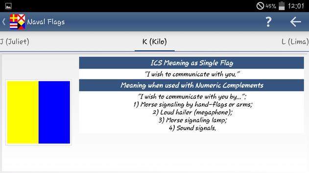 Nautical Flags screenshot 3