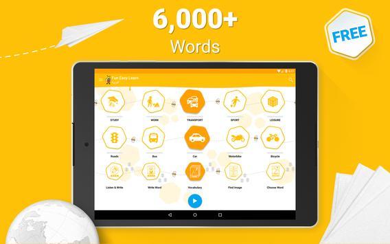 Learn Arabic - 6000 Words - FunEasyLearn screenshot 8