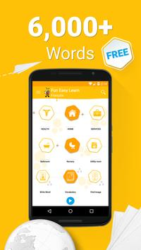 Learn French - 6000 Words - FunEasyLearn poster