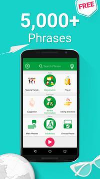Learn Brazilian Portuguese - 5000 Phrases poster