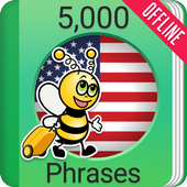 Speak American English - 5000 Phrases & Sentences icon
