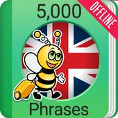 Learn English - 5000 Phrases icon