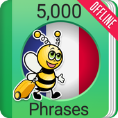 Learn French - 5000 Phrases icon