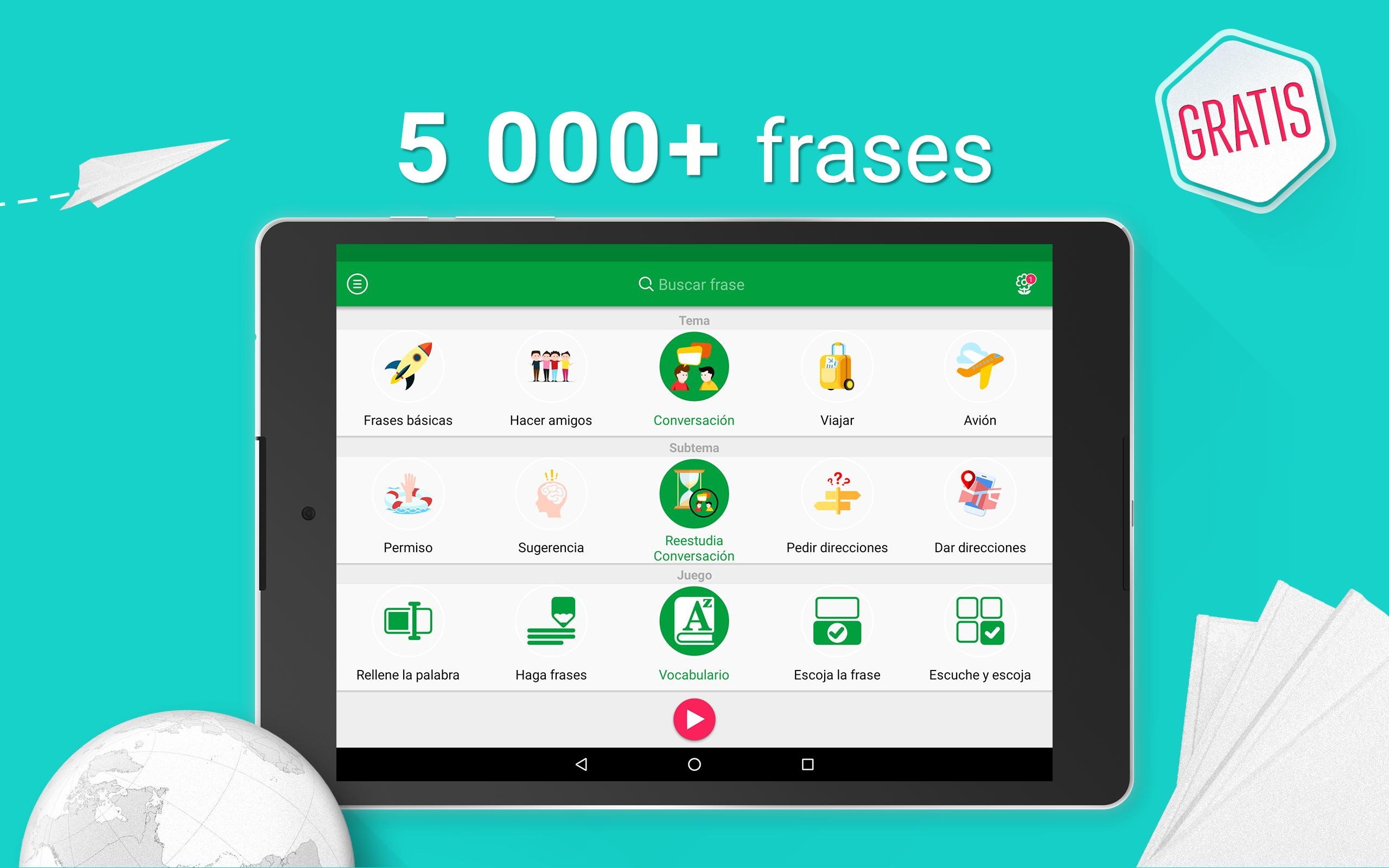 Hable Francés 5000 Frases Expresiones For Android Apk