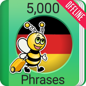 Learn German - 5000 Phrases icon