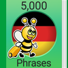 Cours d'allemand - 5000 expressions & phrases icône