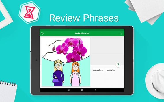 Learn Spanish - 5000 Phrases screenshot 13