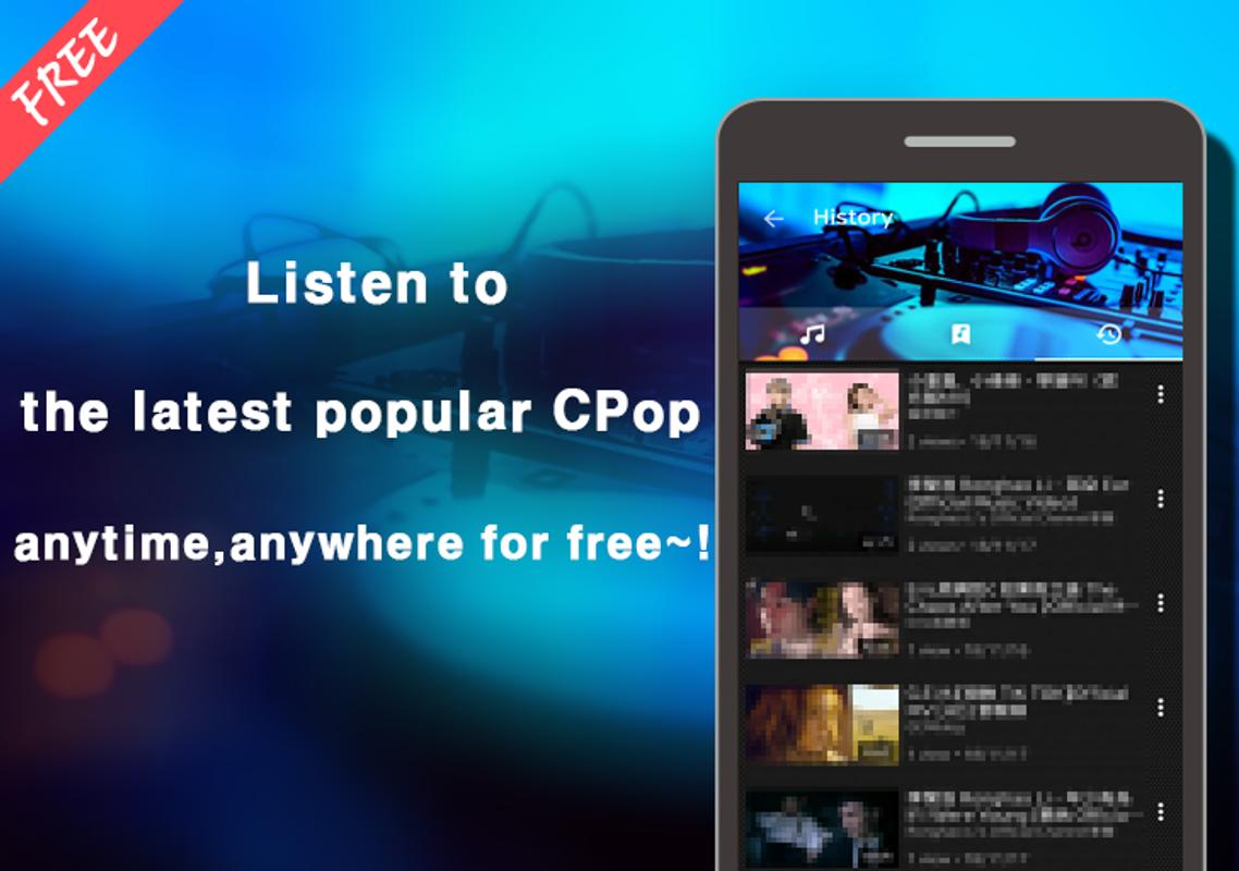 C-pop music for android apk download.
