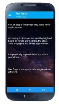 1000+ Cool fun facts screenshot 1