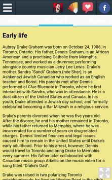 Biography of Drake screenshot 3