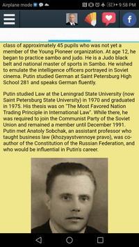 Biography of Vladimir Putin screenshot 1
