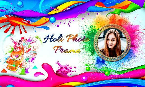 Holi Photo Frame Editor poster