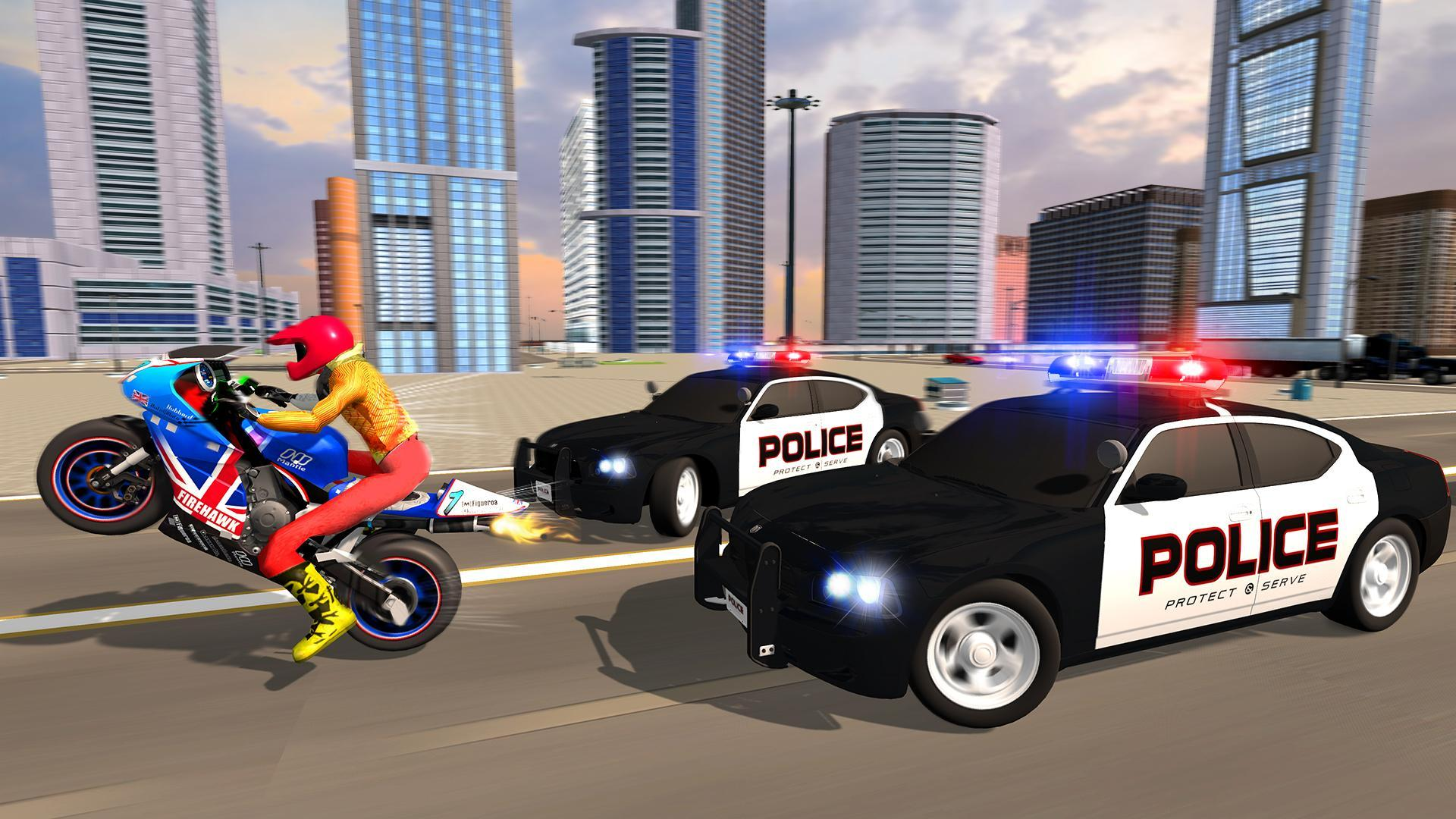 Police Car Vs Theft Bike for Android - APK Download