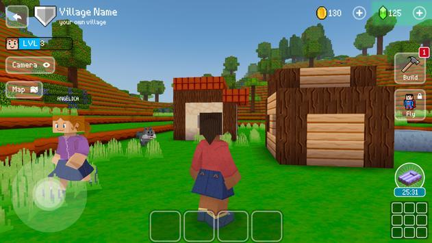 3D 方塊城:免費城市建造模擬遊戲 (Block Craft 3D) 截圖 17
