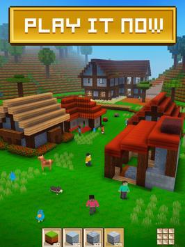 ブロック・クラフト 無料街づくりシミュレーションゲーム ポスター
