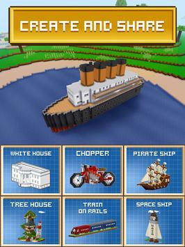 ブロック・クラフト 無料街づくりシミュレーションゲーム スクリーンショット 15