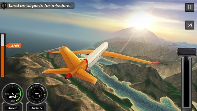 Flight Pilot تصوير الشاشة 17