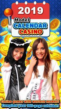 Hot Model Casino Slots : Sexy Slot Machine Casino poster