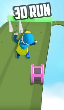 Fun Race Running Human : Fire Fun Run Fast game screenshot 3