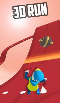 Fun Race Running Human : Fire Fun Run Fast game screenshot 1