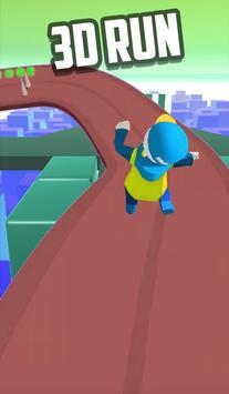 Fun Race Running Human : Fire Fun Run Fast game screenshot 2