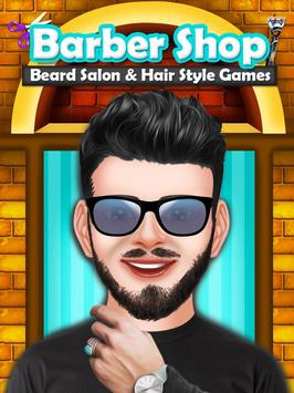 Barber Shop Beard Salon and Hair Style Games poster
