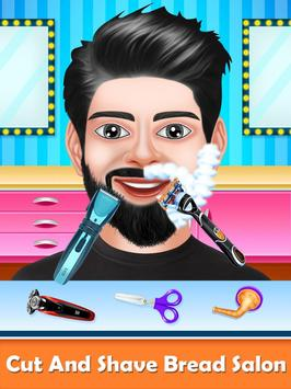Barber Shop Beard Salon and Hair Style Games screenshot 1