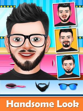 Barber Shop Beard Salon and Hair Style Games screenshot 2