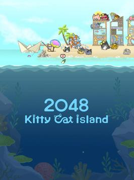 2048 Kitty Cat Island Screenshot 14