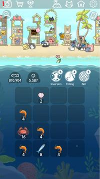 2048 Kitty Cat Island Screenshot 1