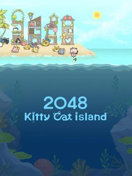 2048 Kitty Cat Island Screenshot 9