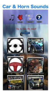 Toddler Car Games: Car Engine Sounds For Kids Free screenshot 1