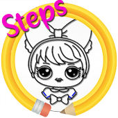 Drawing Cute Cartoons Step by Step icon