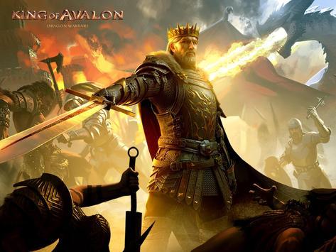 King of Avalon Cartaz
