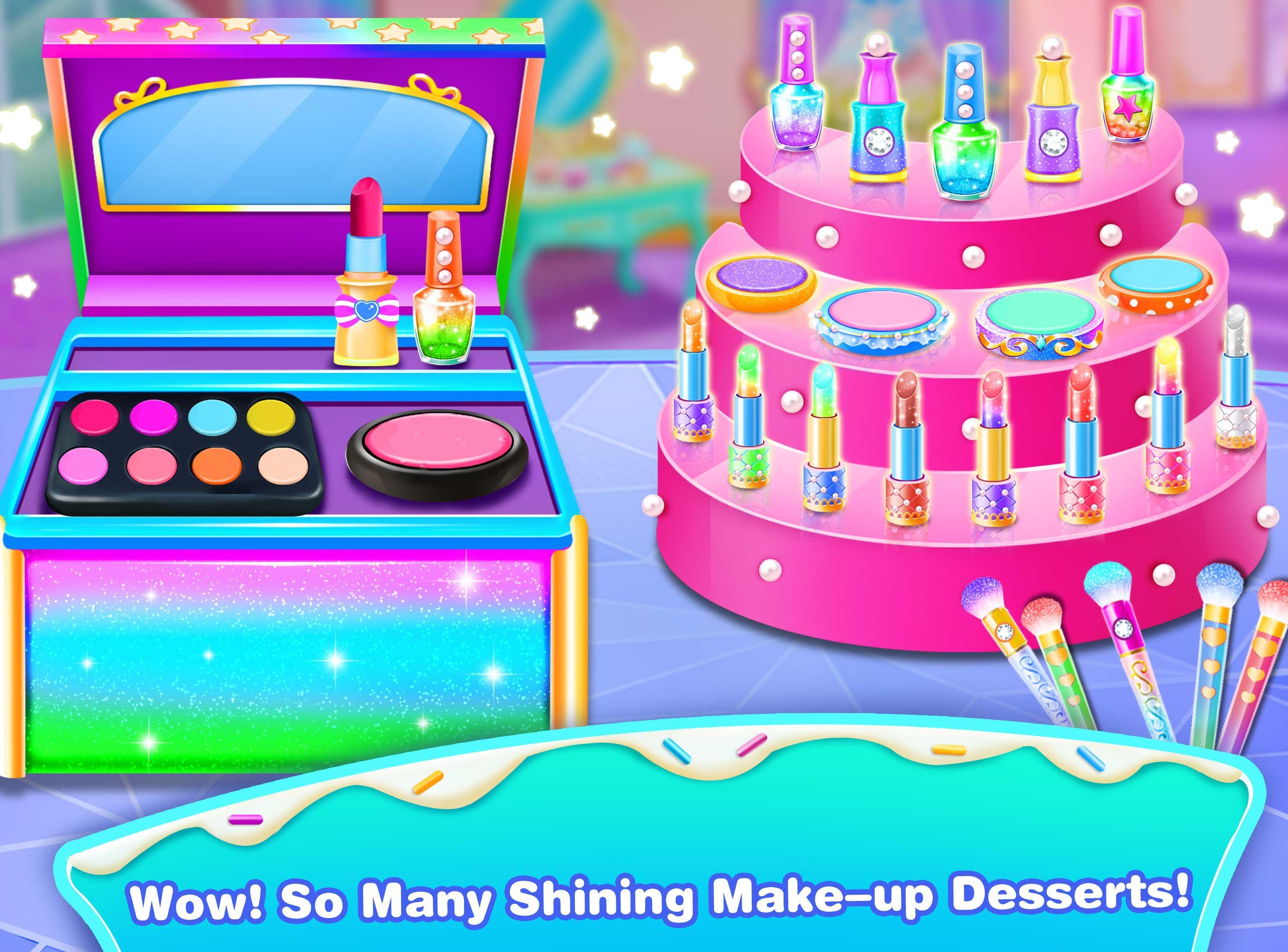 Girl Makeup Kit Comfy Cakes–Pretty Box Bakery Game cho Android - Tải về APK
