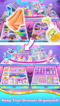 Makeup Kit Cleaning – Girls Tidy Up Game screenshot 3